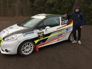 Roman Schwedt mit dem Peugeot 208 R2 von Romo Motorsport
