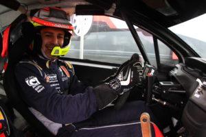Roman Schwedt im Peugeot 208 R2