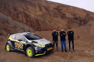 Roman Schwedt im WRC